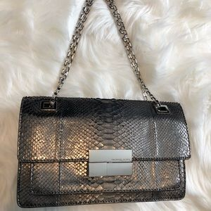 Michael Kors Collection Python Shoulder Bag